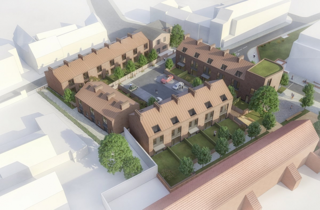 Town centre housing project